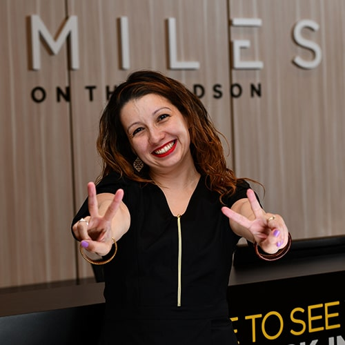 Diana is excited to see you at our dental practice in Edgewater, New Jersey