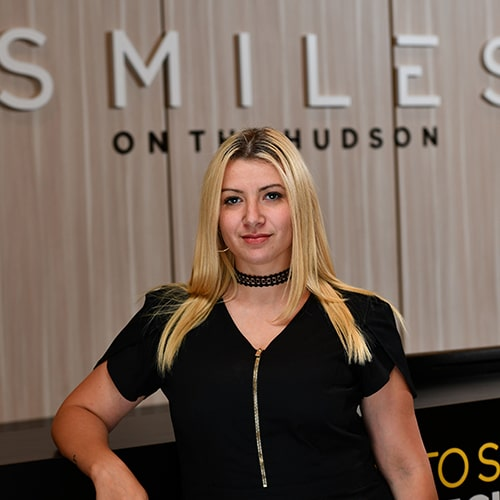Megan of Smiles on the Hudson dental practice in Edgewater, New Jersey
