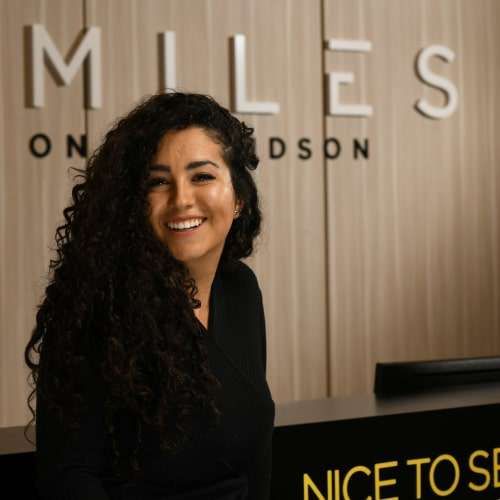 Carolina Oviedo is excited to see you at our dental practice in Edgewater, New Jersey