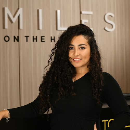 Carolina of Smiles on the Hudson dental practice in Edgewater, New Jersey